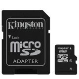 Карта памяти Kingston microSDHC 8GB Class4(SDC4/8GB)